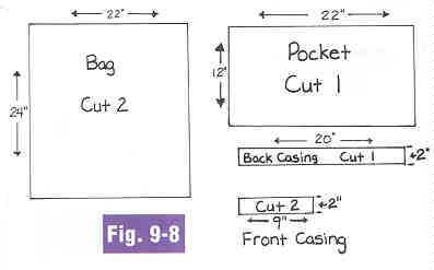 Teen sewing - make a beach bag