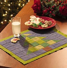Festive felt placemat from JoAnn Stores at www.joann.com